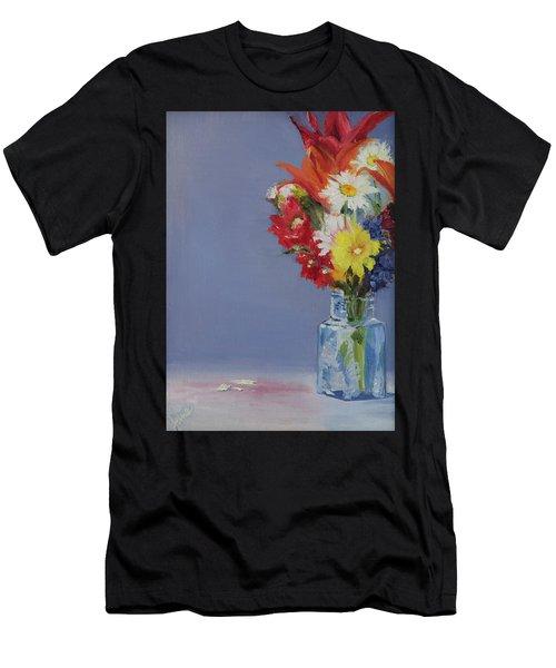 Summer Bouquet Men's T-Shirt (Athletic Fit)