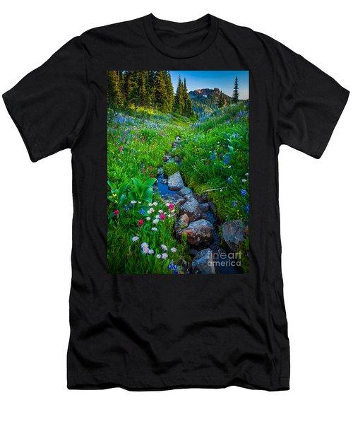 Summer Creek Men's T-Shirt (Athletic Fit)