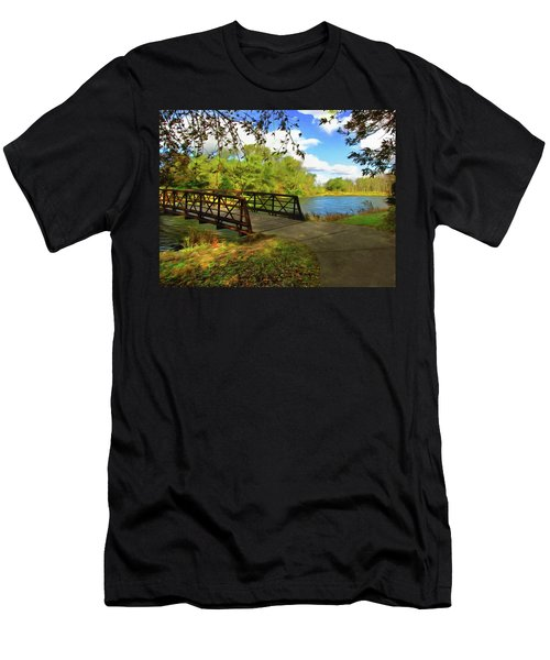 Summer Crossing Men's T-Shirt (Athletic Fit)