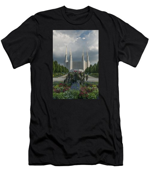 Summer Day At The Lds Men's T-Shirt (Athletic Fit)