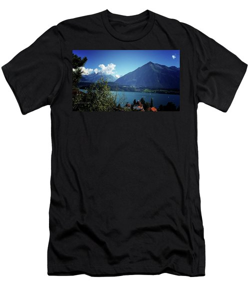Men's T-Shirt (Slim Fit) featuring the photograph Summer Day by Mimulux patricia no No