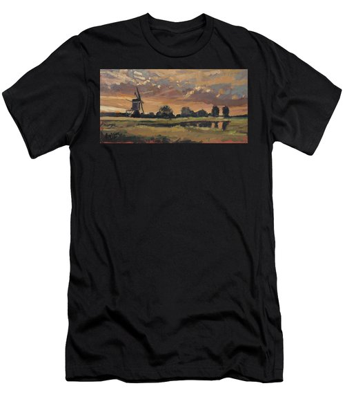 Summer Evening In The Polder Men's T-Shirt (Athletic Fit)