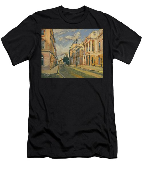 Summer Evening Pall Mall London Men's T-Shirt (Athletic Fit)