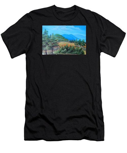 Summer Fields 2 Men's T-Shirt (Athletic Fit)