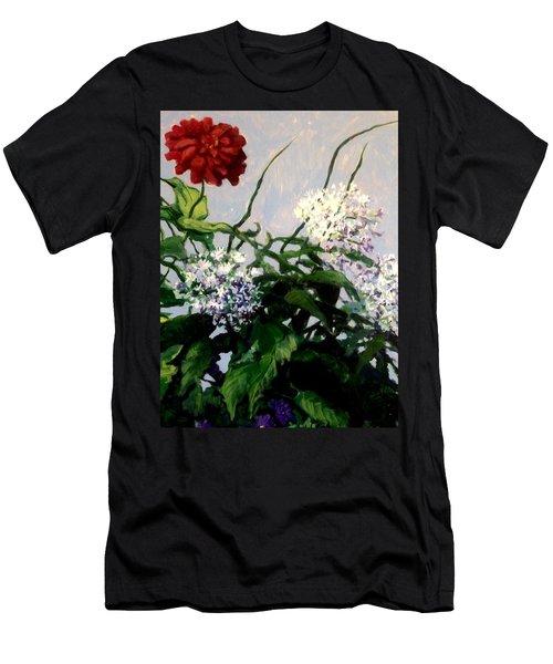 Summer Flowers 1 Men's T-Shirt (Athletic Fit)