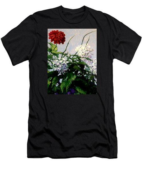 Summer Flowers 1 Men's T-Shirt (Athletic Fit)