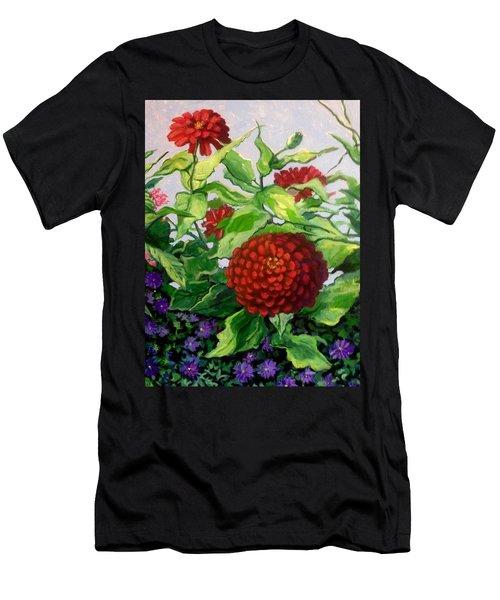 Summer Flowers 3 Men's T-Shirt (Athletic Fit)