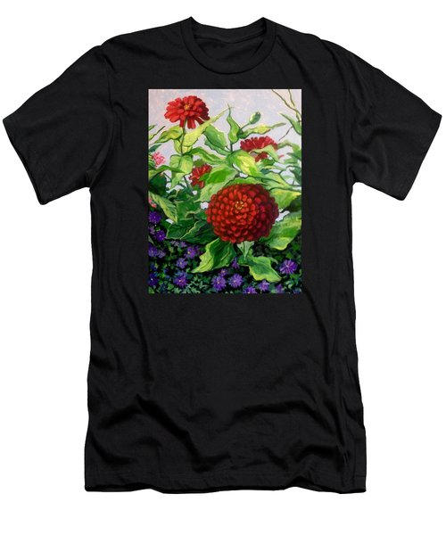 Summer Flowers 3 Men's T-Shirt (Athletic Fit)