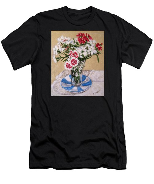 Summer Flowers Men's T-Shirt (Athletic Fit)