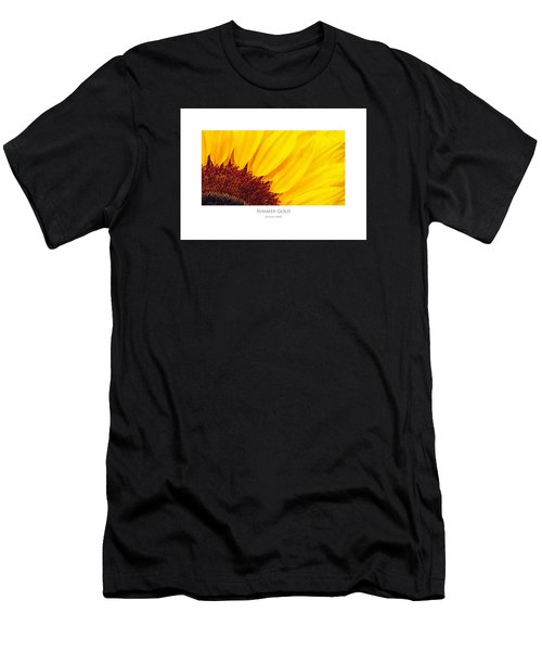 Men's T-Shirt (Athletic Fit) featuring the digital art Summer Gold by Julian Perry