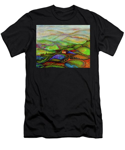 Summer Hills Men's T-Shirt (Athletic Fit)