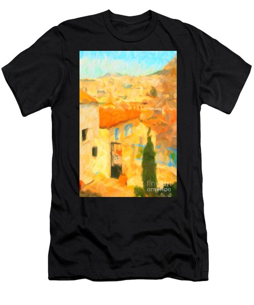Summer In Athens Men's T-Shirt (Athletic Fit)