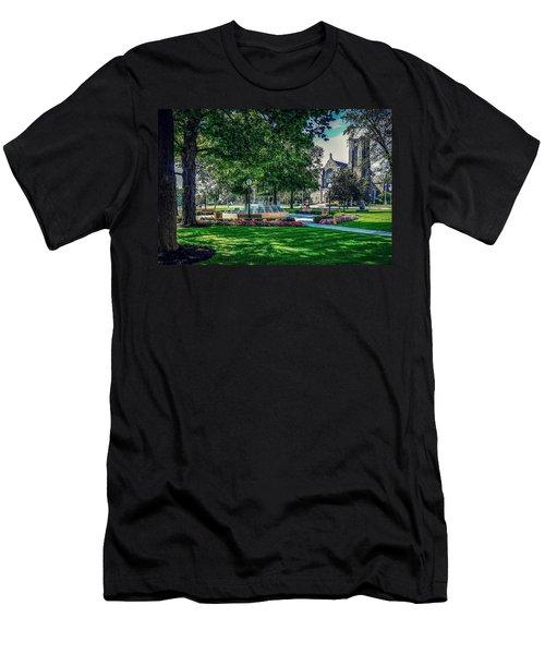 Summer In Juckett Park Men's T-Shirt (Athletic Fit)