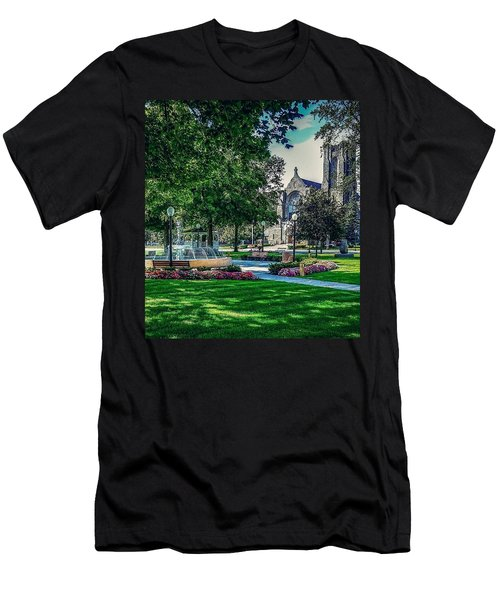 Summer In Juckett Park Men's T-Shirt (Athletic Fit)