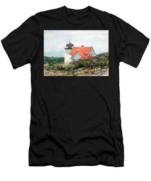 Summer In Maine Men's T-Shirt (Athletic Fit)
