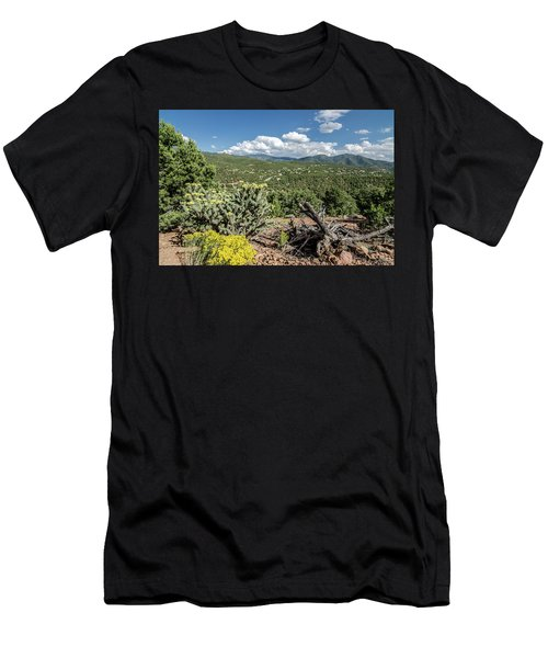 Summer In Santa Fe Men's T-Shirt (Athletic Fit)