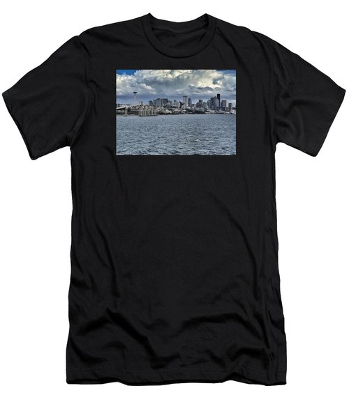 Summer In Seattle Men's T-Shirt (Athletic Fit)