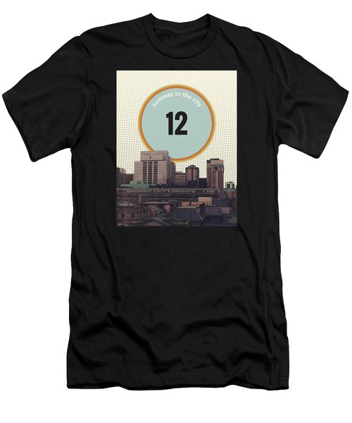 Men's T-Shirt (Slim Fit) featuring the photograph Summer In The City by Phil Perkins