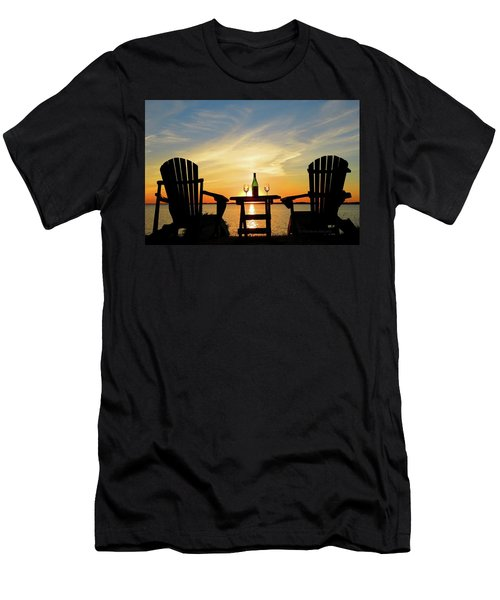 Summer In The River Men's T-Shirt (Athletic Fit)