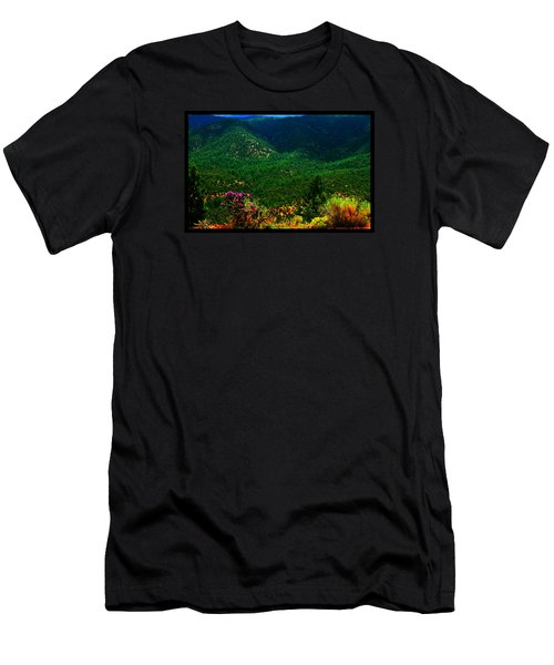 Summer In Upper Pacheco Canyon Men's T-Shirt (Slim Fit) by Susanne Still