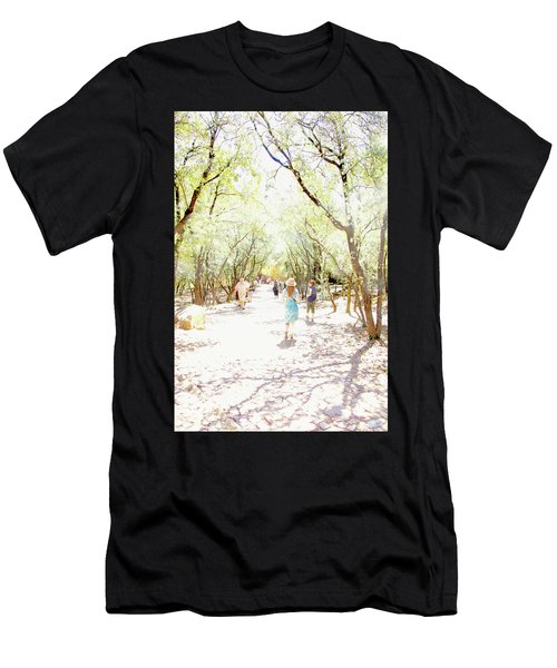 Men's T-Shirt (Athletic Fit) featuring the photograph Summer Light Provence by Rasma Bertz