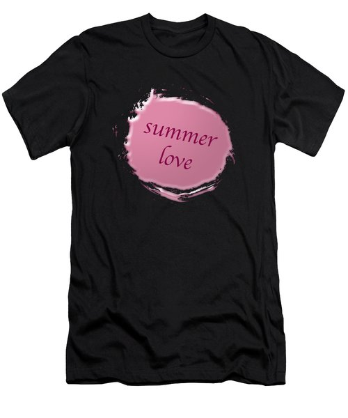 Summer Love  Men's T-Shirt (Slim Fit)