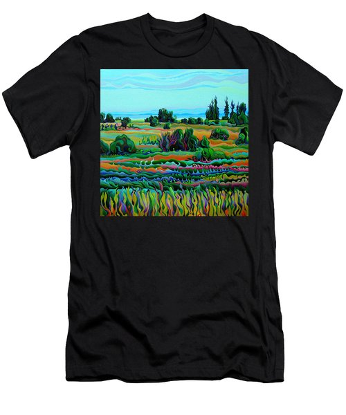 Summer Meadow Dance Men's T-Shirt (Athletic Fit)