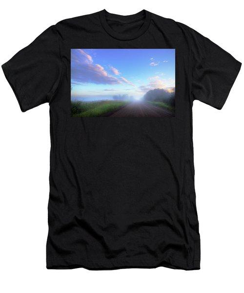 Summer Morning In Alberta Men's T-Shirt (Athletic Fit)