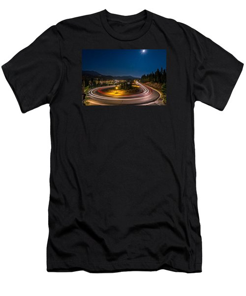 Summer Night Above Breckenridge Men's T-Shirt (Athletic Fit)