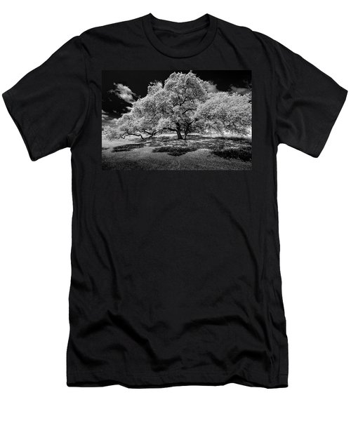 Men's T-Shirt (Slim Fit) featuring the photograph A Summer's Night by Darryl Dalton