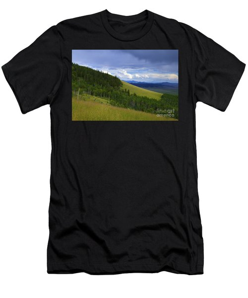 Summer On Kenosha Pass Men's T-Shirt (Athletic Fit)