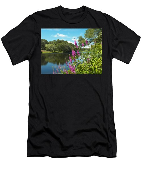 Summer On Kings Pond Men's T-Shirt (Athletic Fit)