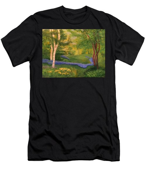 Summer On Orcas Island Men's T-Shirt (Athletic Fit)
