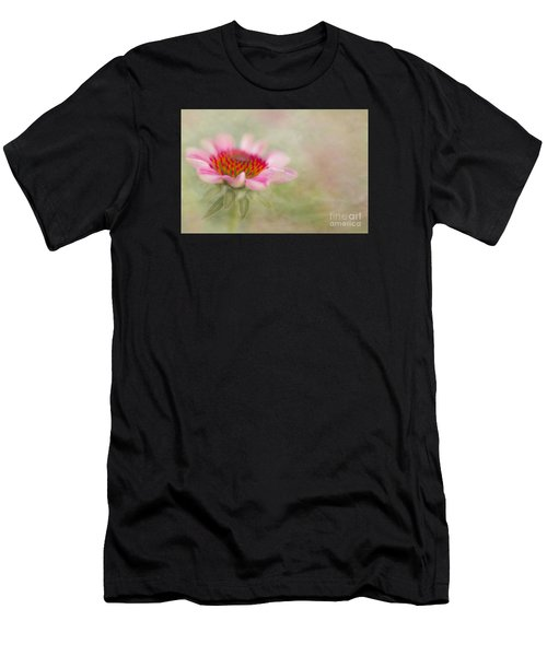 Summer Pink Echinacea Men's T-Shirt (Athletic Fit)