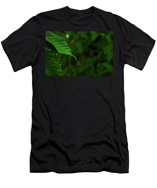 Summer Rain Men's T-Shirt (Athletic Fit)