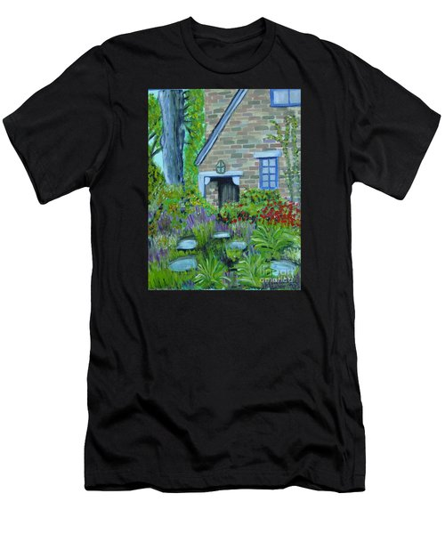 Summer Retreat Men's T-Shirt (Athletic Fit)