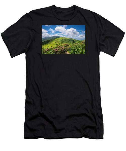 Summer Roan Mountain Bloom Men's T-Shirt (Athletic Fit)