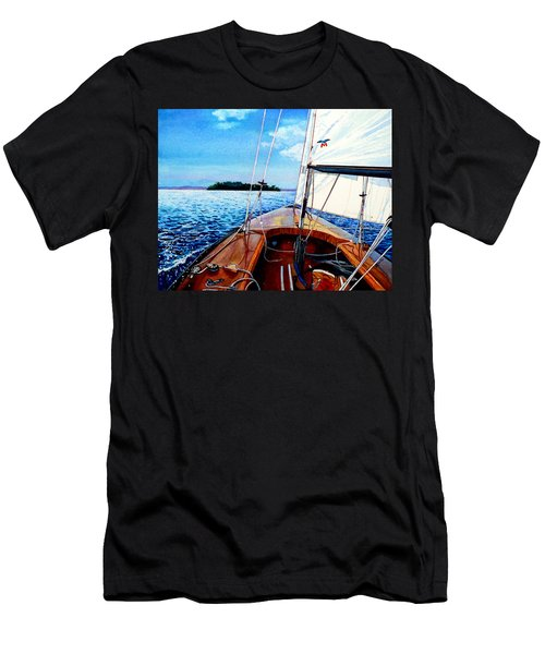 Summer Sailing Men's T-Shirt (Athletic Fit)