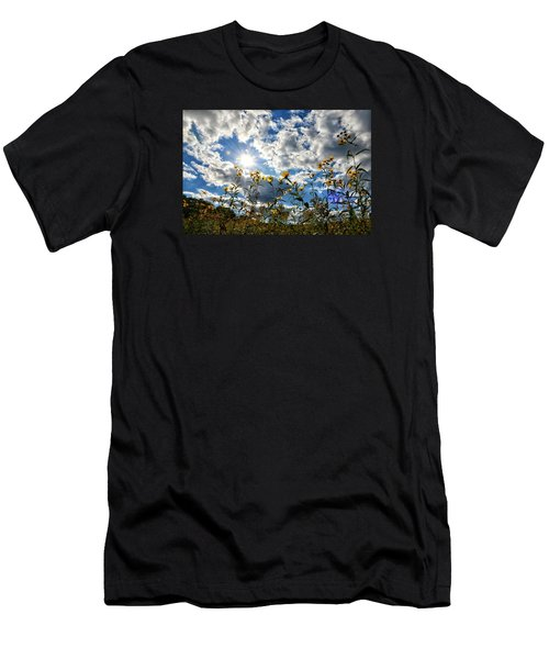Summer Scene Men's T-Shirt (Slim Fit) by Nikki McInnes