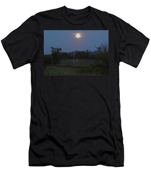 Summer Solstice Full Moon Men's T-Shirt (Athletic Fit)