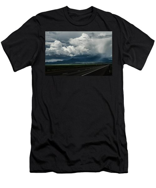 Summer Storm Men's T-Shirt (Athletic Fit)