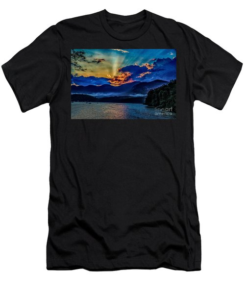 Summer Sundown Men's T-Shirt (Athletic Fit)