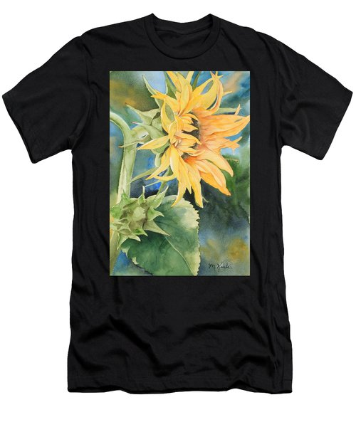 Summer Sunflower Men's T-Shirt (Athletic Fit)