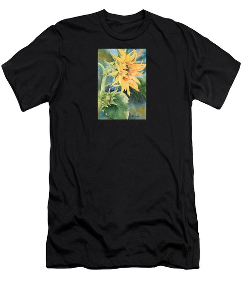 Summer Sunflower Men's T-Shirt (Athletic Fit)