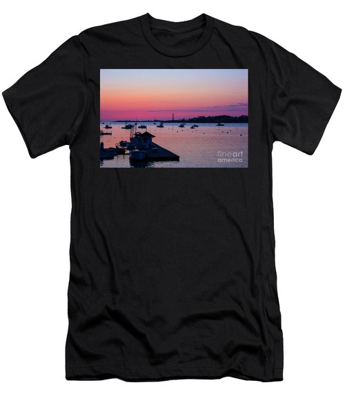 Summer Sunrise Men's T-Shirt (Athletic Fit)