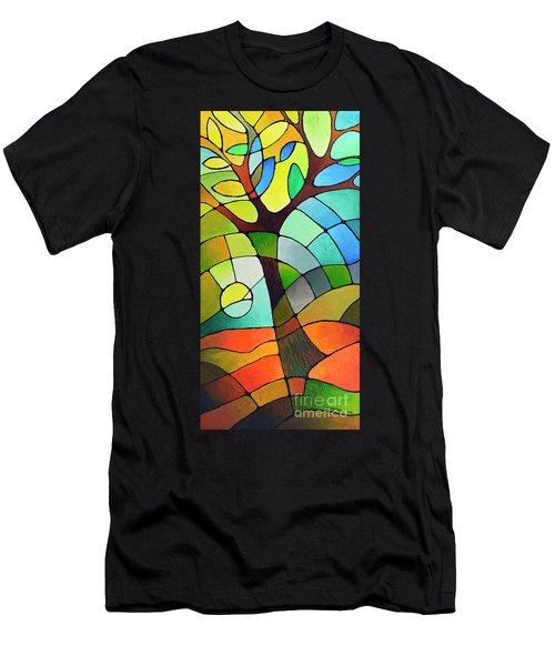 Summer Tree Men's T-Shirt (Athletic Fit)