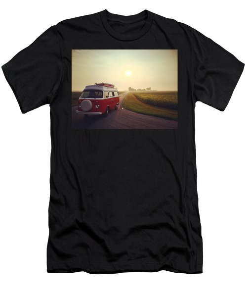 Summer Vw Vibe Men's T-Shirt (Athletic Fit)