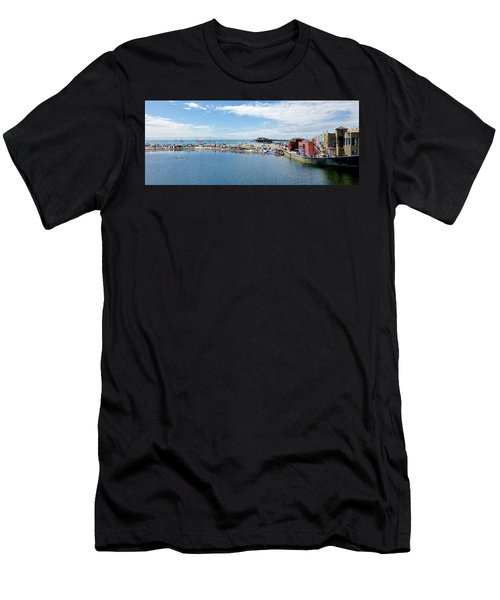 Summers End Capitola Beach Men's T-Shirt (Athletic Fit)