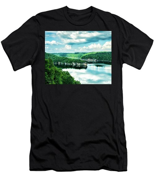 Summertime At Long Point Men's T-Shirt (Athletic Fit)