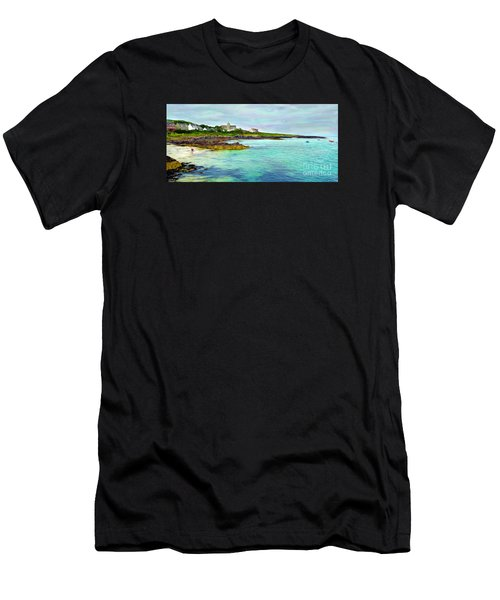 Summertime, Isle Of Iona Men's T-Shirt (Athletic Fit)